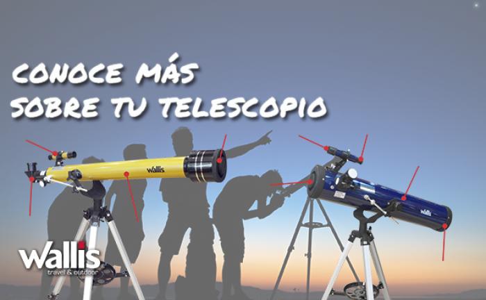 Conoce más sobre un telescopio