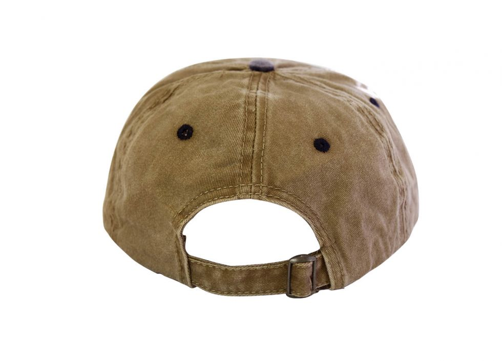 Gorra prelavada, Mountain bike color khaki/navy
