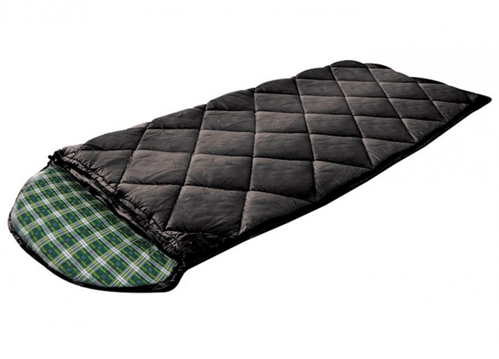 Bolsa para dormir con interior franela negro