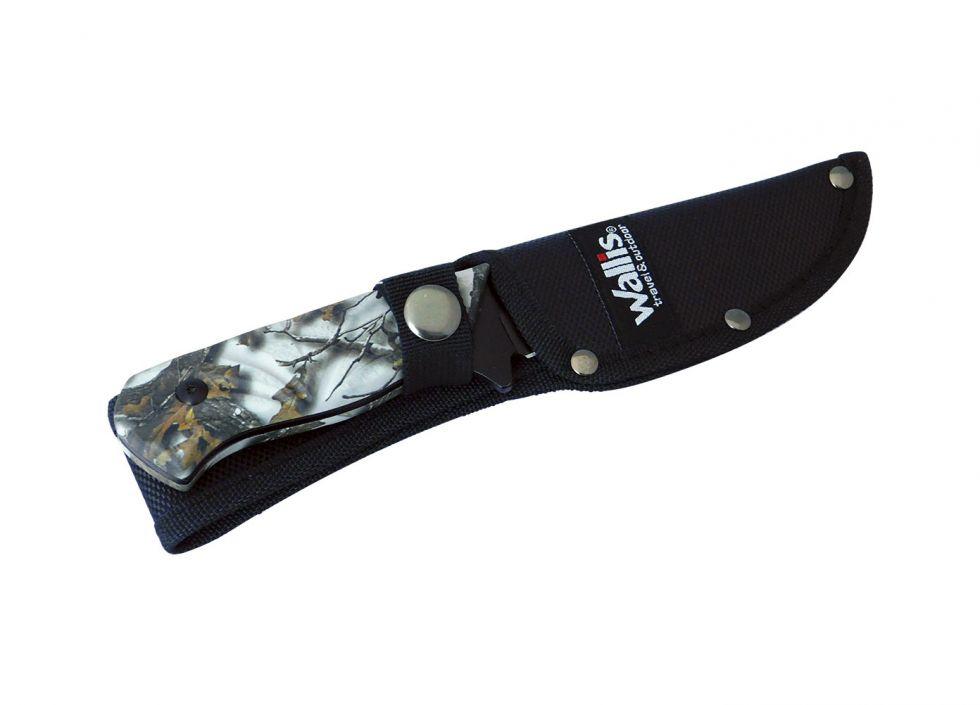 Cuchillo de monte con funda